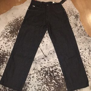 Boys relaxed fit black jeans brand new